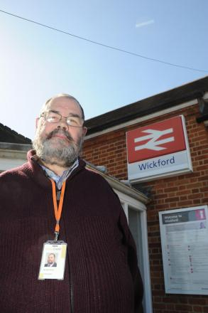 Wickford Councillor Michael Mowe who welcomed the investment but feels Greater Anglia bosses must listen to what people want. Pic: Paul Watson