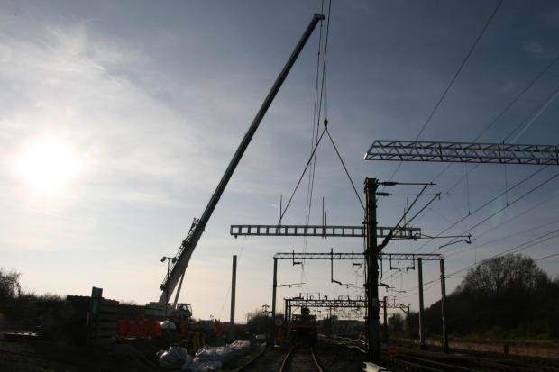 Work on c2c line over Easter