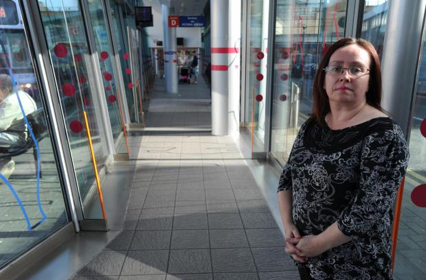 Reported faults - councillor Ann Jones at Southend Travel Centre