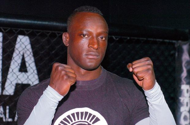 Ready for his return - Walter Gahadza steps back into the cage tomorrow. Picture: ANNA LUKALA