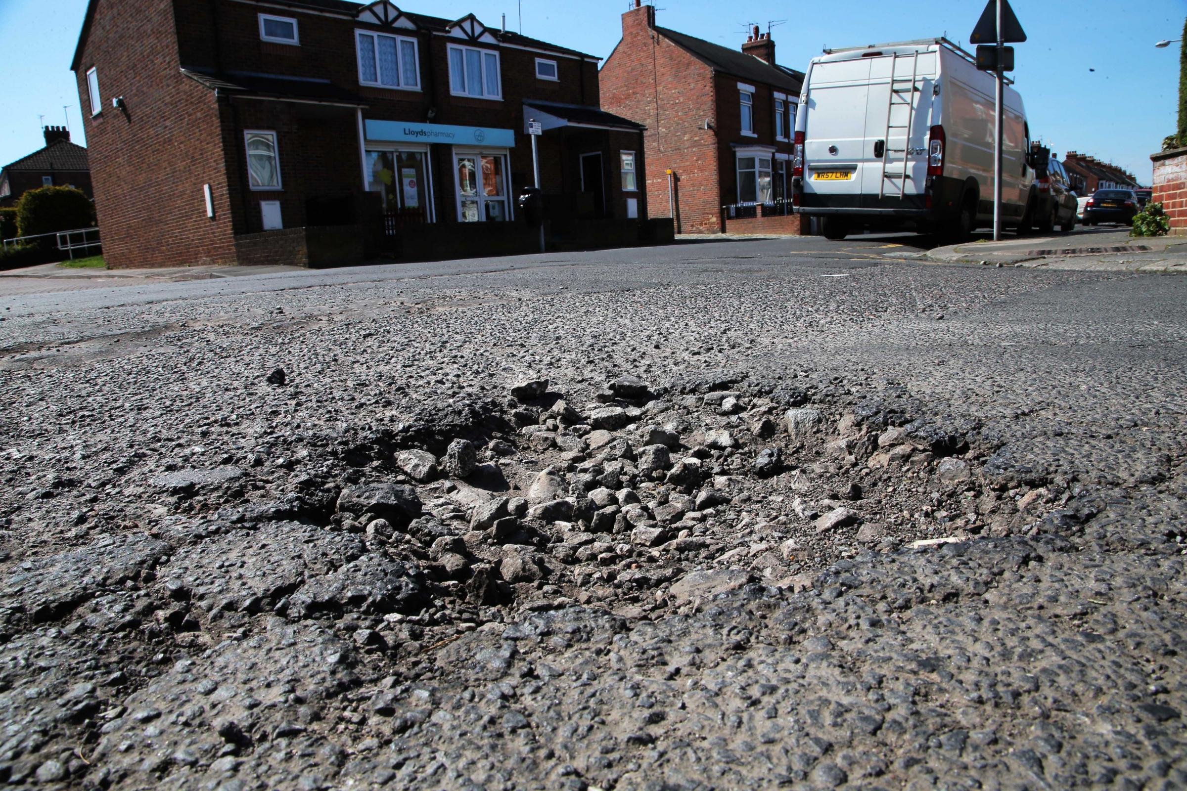 Motorists welcome £6m pothole boost