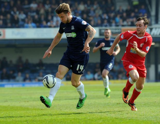 Echo: Kevan Hurst in action for Southend United