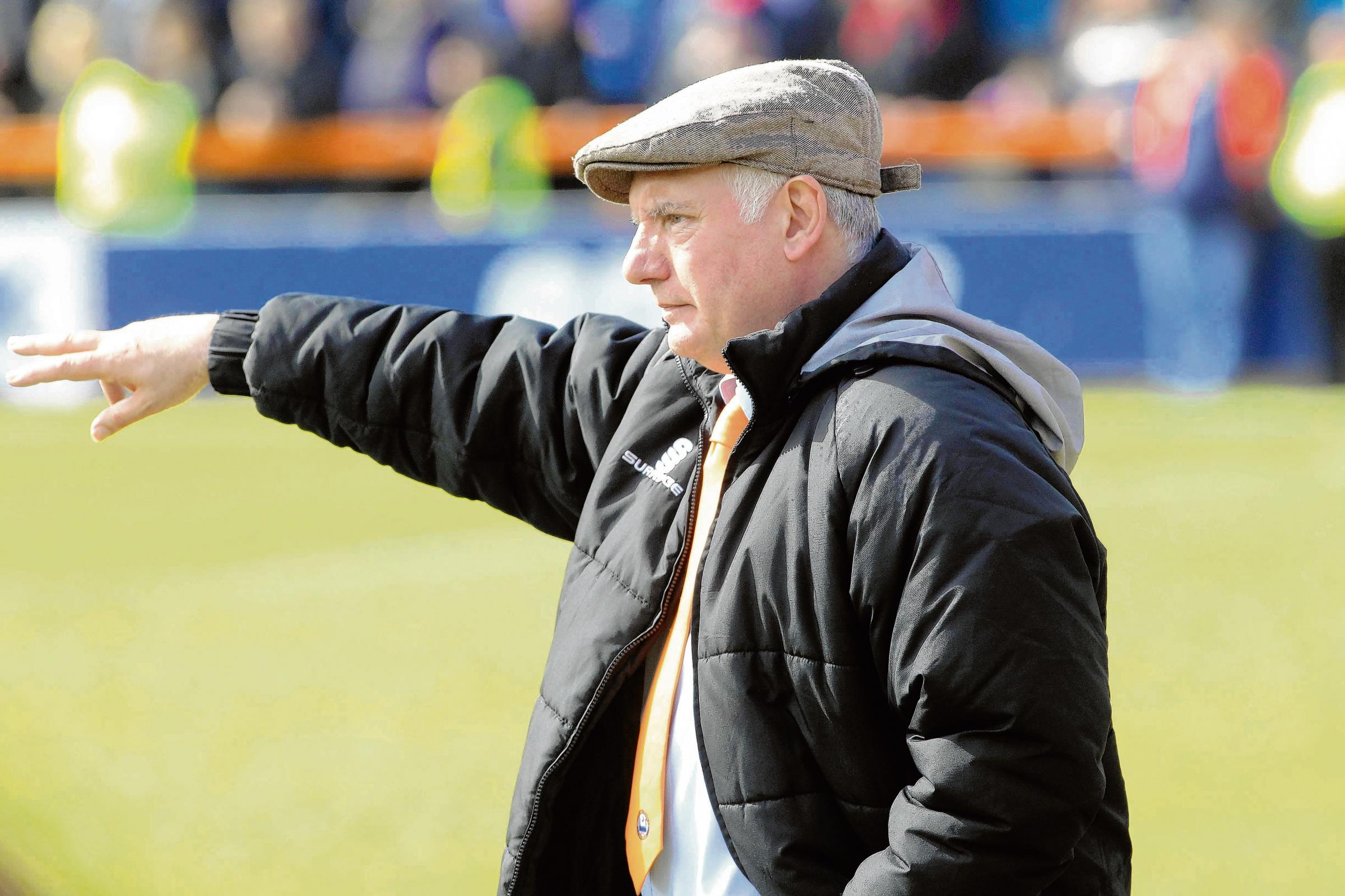 Alan Devonshire - expecting a tough test against Concord Rangers