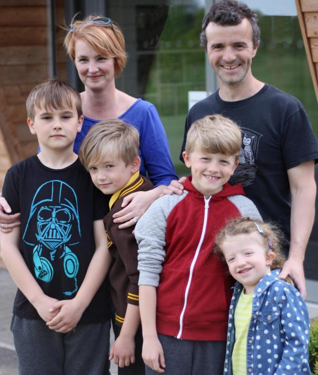 Echo: Walking for HARP - Daniel Hodgson, HARP Fundraiser Catherine Hodgson, Harry Hodgson and Oliver, Nathan and Phoebe Martin will all be taking part