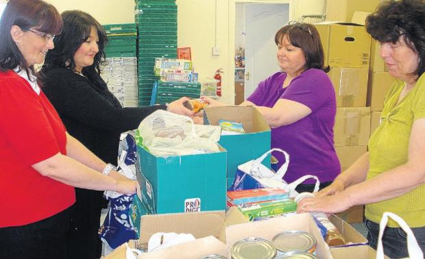 Help on the way – staff at Thurrock Foodbank