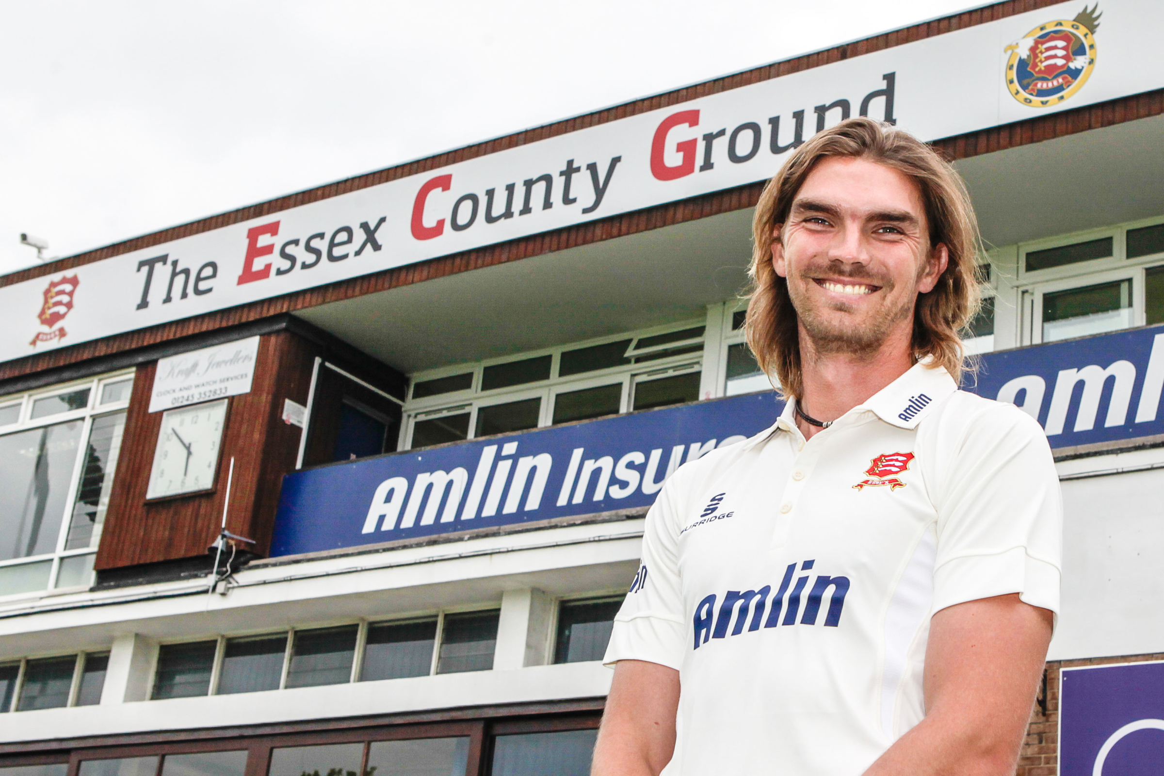 Oliver Newby has joined Essex from Lancashire on a one-month loan. Picture: GAVIN ELLIS/TGS PHOTO