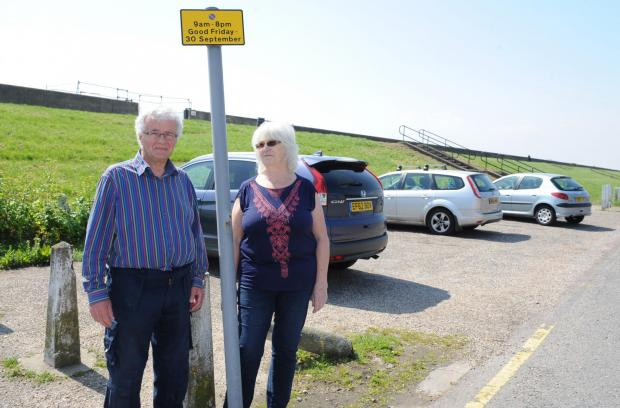 Echo: Ban on seaside parking sparks anger