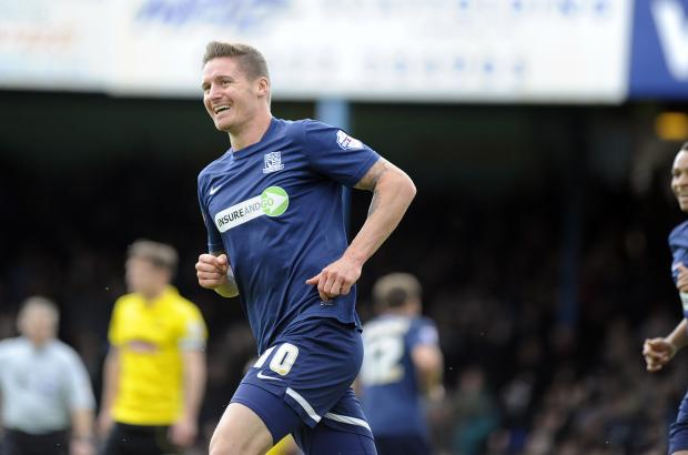 Echo: Barry Corr - came close to joining Burton Albion before the start of the season