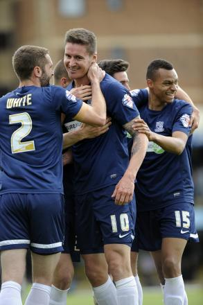 Barry Corr - fired Southend United to victory against Burton Albion on Saturday and is now aiming for more of the same in the League Two play-offs
