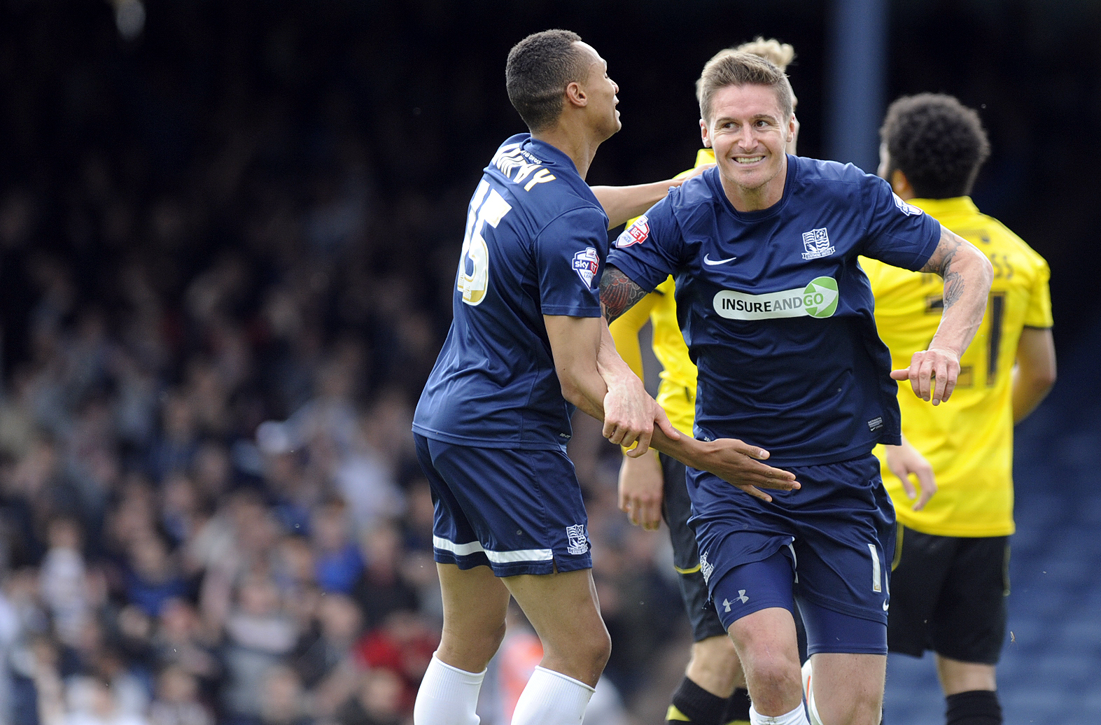 Barry Corr - on target for Southend United again