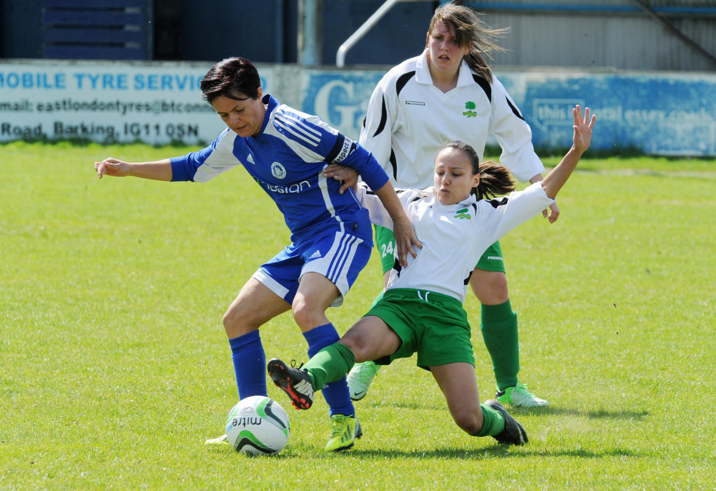Brace — Marie Barker netted two goals for Billericay Town
