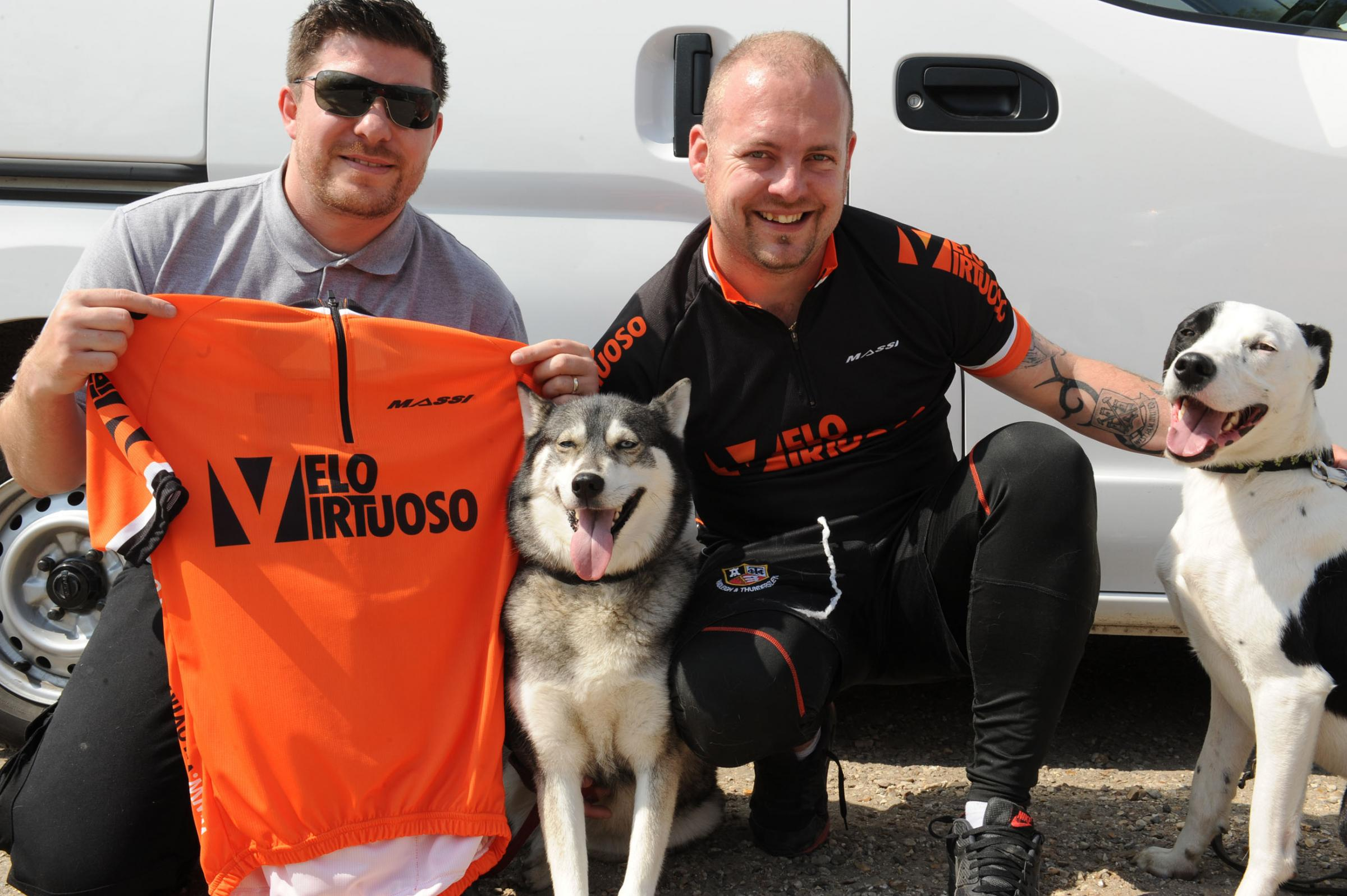 Double marathon challenge for dog lover James