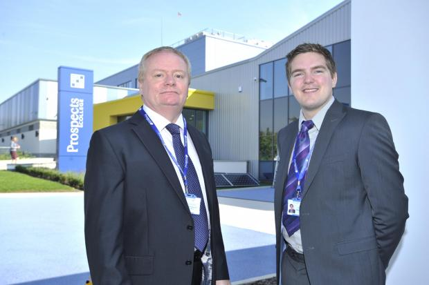 Major boost to courses at Prospects College