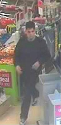 Police release CCTV of man wanted in connection with shoplifting in Billericay supermarket