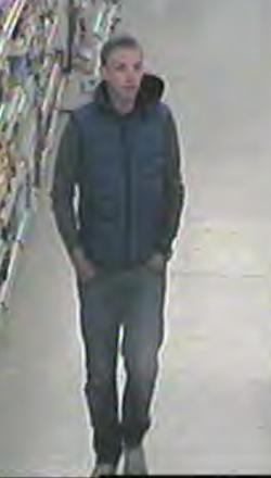 Basildon toothbrush thief wanted b