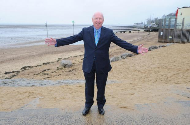 Southend councillor responsible for tourism Derek Jarvis says beaches in the town are close to getting their Blue Flag ratings back after clean-up operation