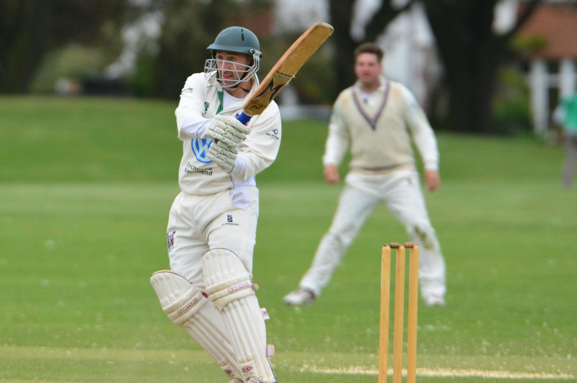 Leading the way — Dale Hackney top-scored for Southend & EMT with 33 runs
