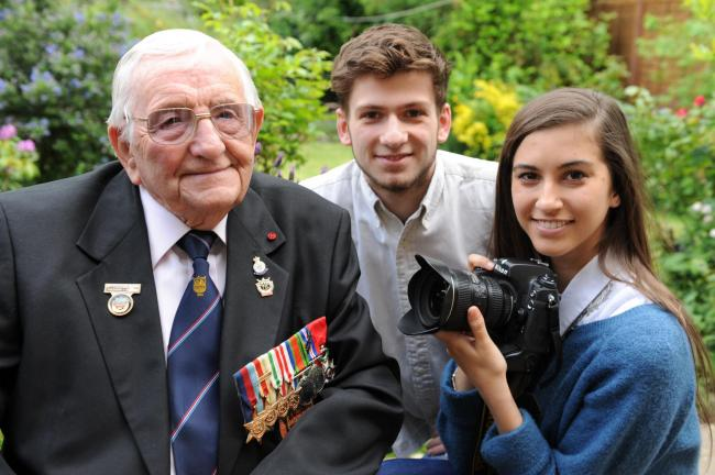 We put grandad's D-Day memories up on YouTube | Echo