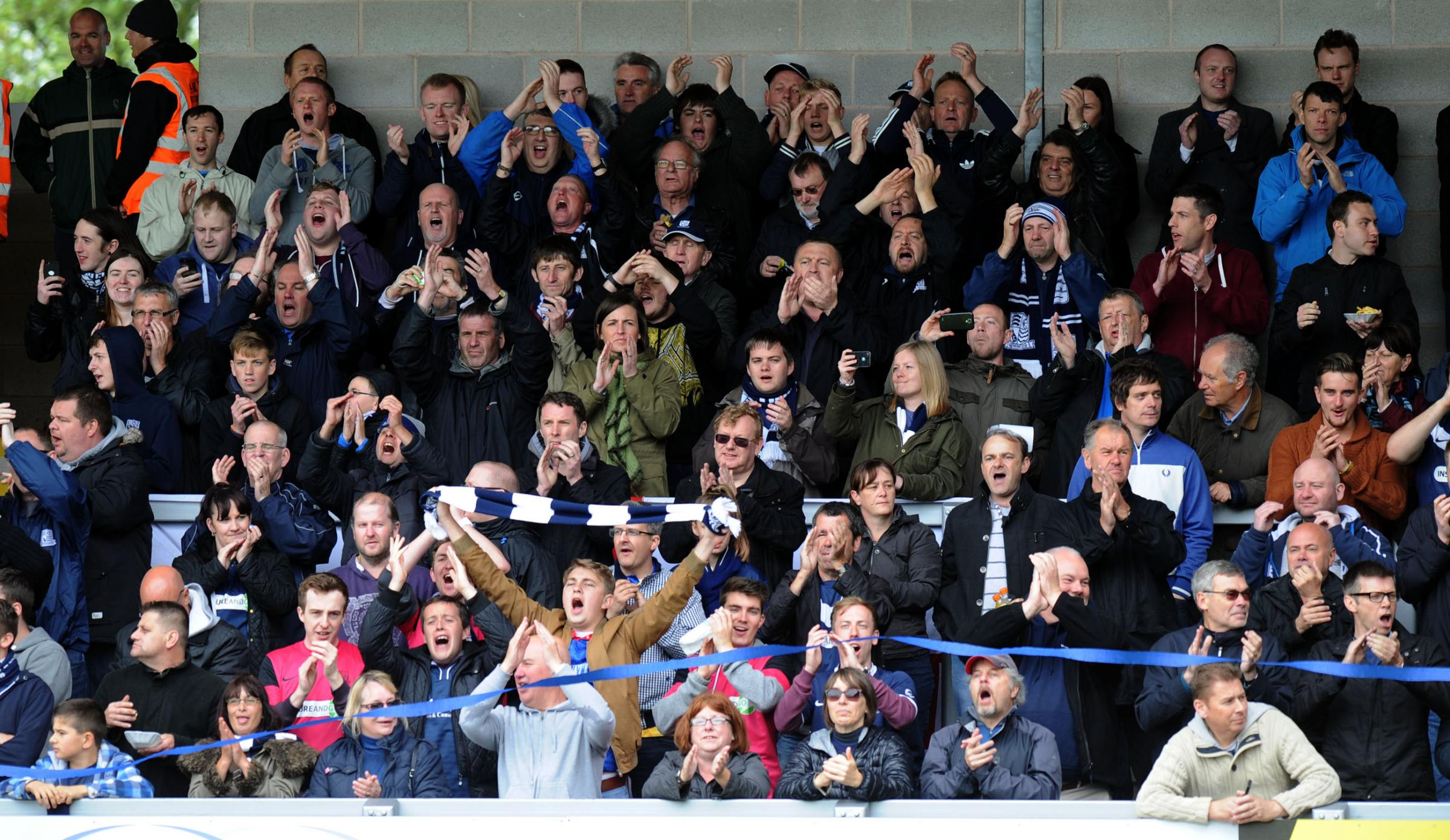 Blues fans are being urged to pack out Roots Hall this weekend