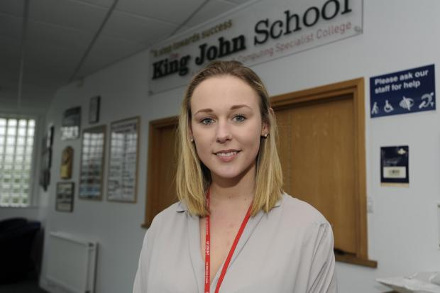 Echo: USA here I come – King John student Ellen Binnington, of Whiteways, Eastwood, has just got a place at summer school at Yale University