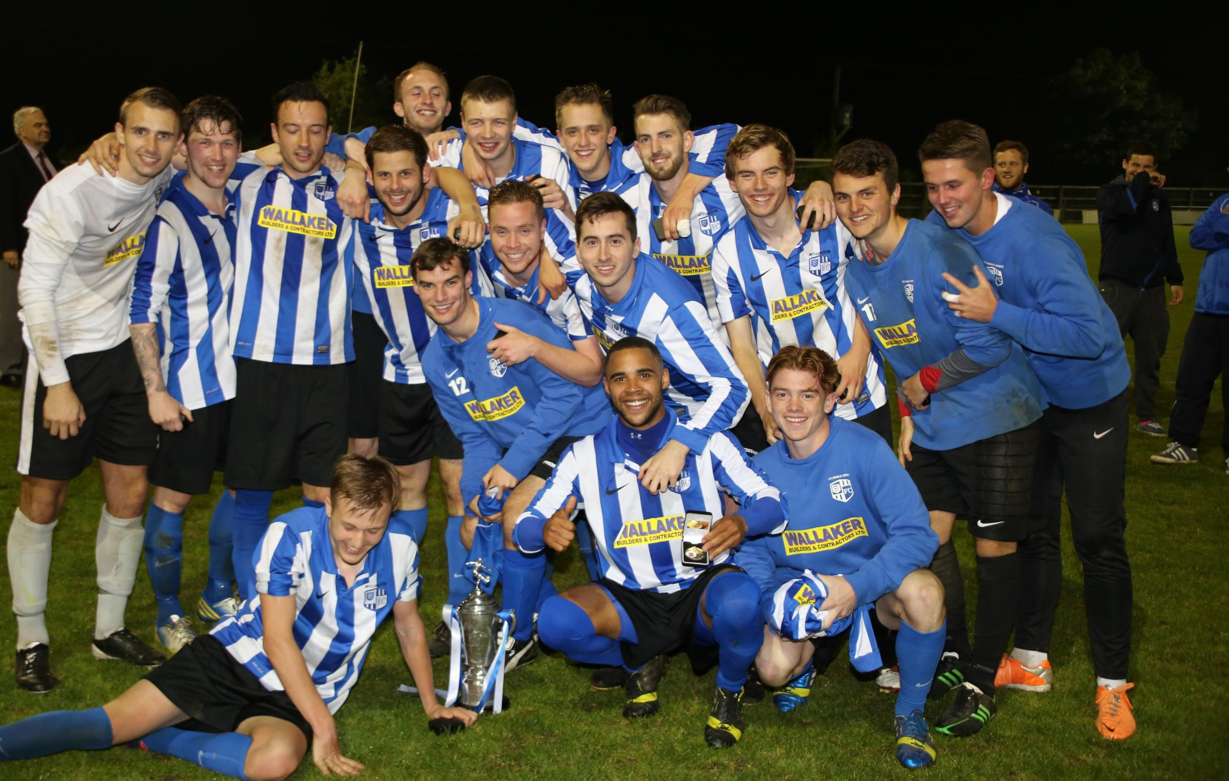 Champions – Hullbridge Sports with the Gordon Brasted Trophy