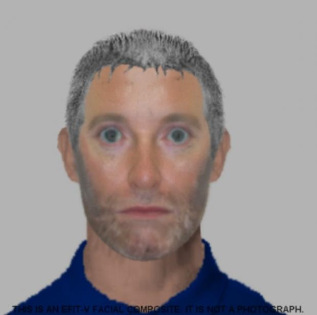 Police release e-fit on continued hunt for attacker