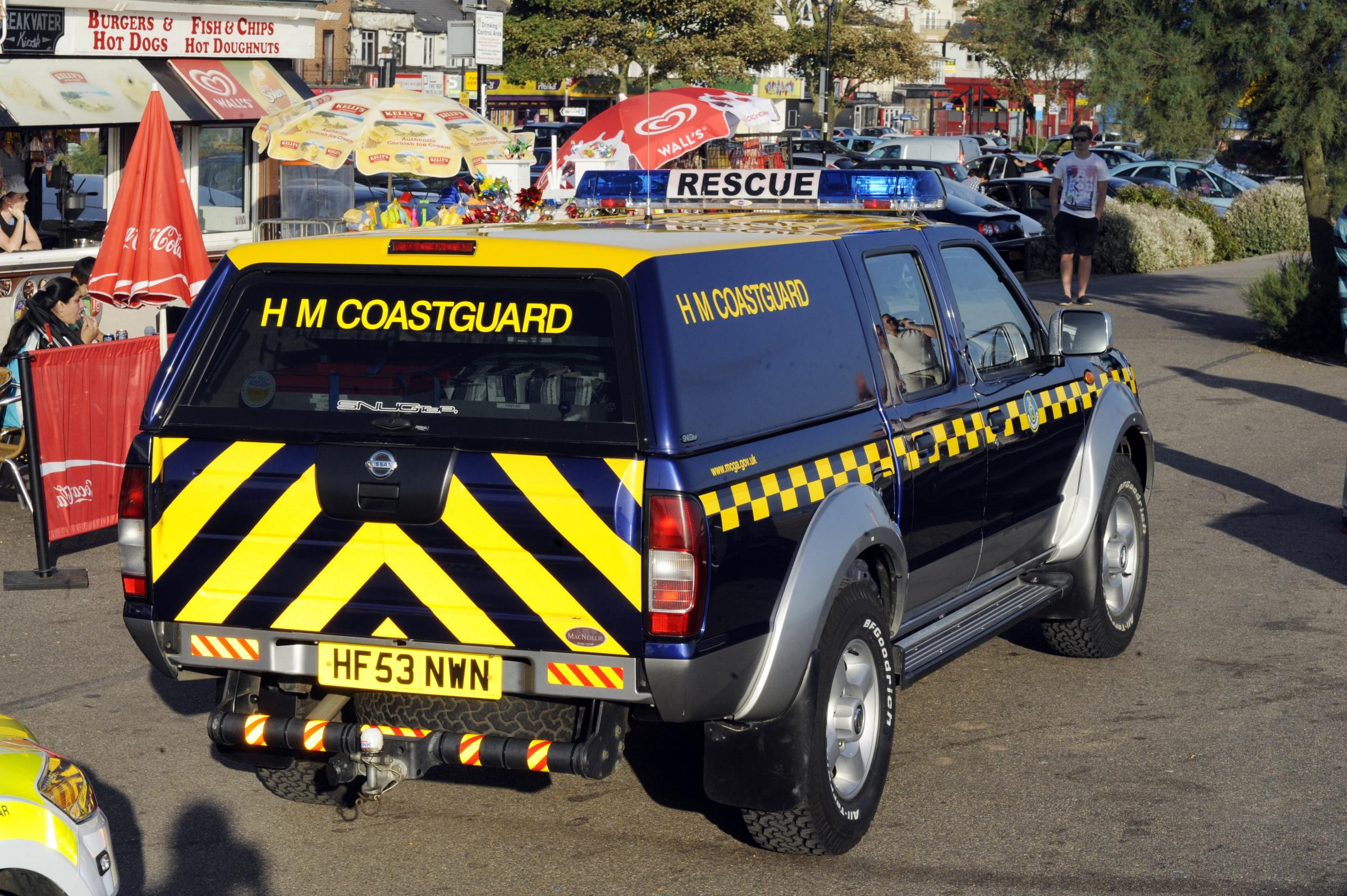 Coastguard rescue drunk man