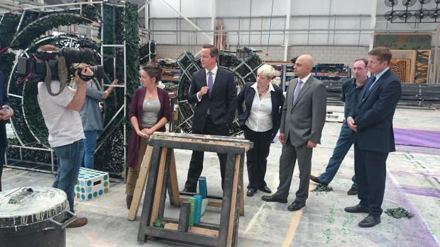 PM David Cameron - in Essex again today (Picture by Echo photographer Al Underwood)