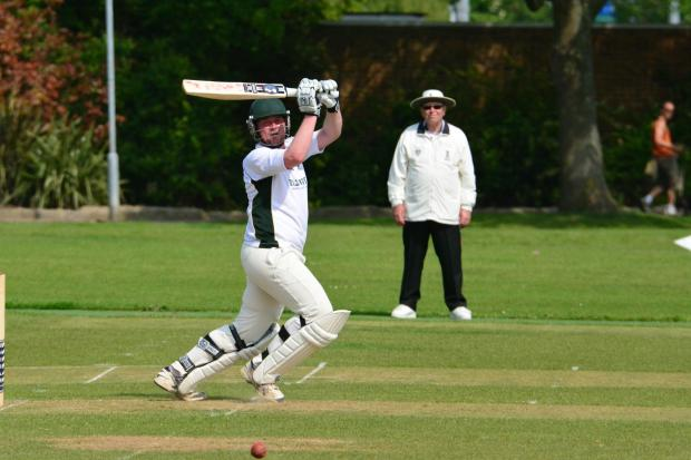 Aaron Lucas - bowling let Old Southendian down