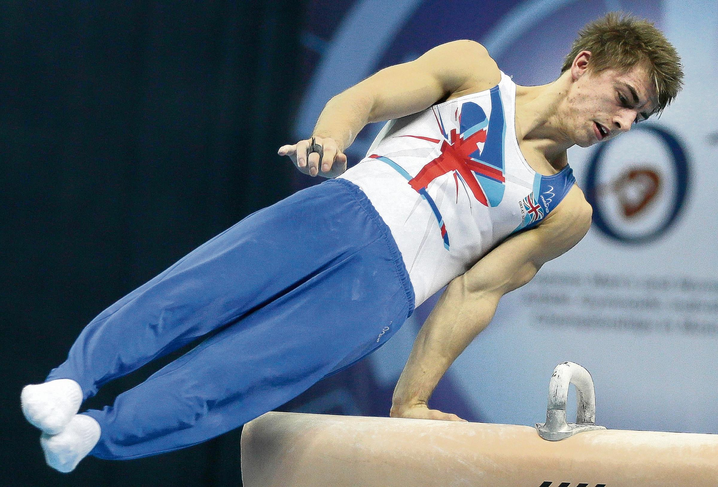Medal hope - Max Whitlock will be among the favourites in Glasgow