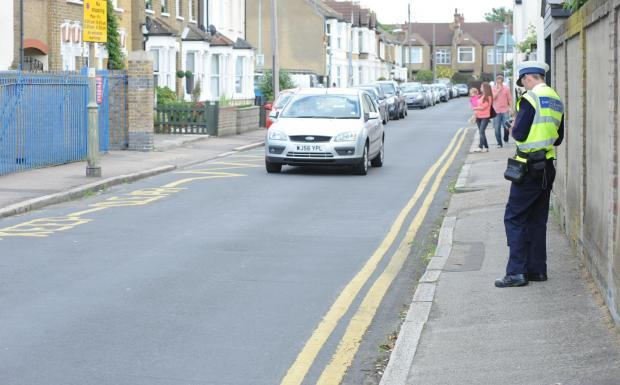 Education – Castle Point councillor Colin Riley, above, says his council's policy is to persuade drivers to obey the law, rather than fining them