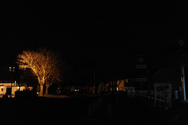 Echo: Streetlights out in Basildon