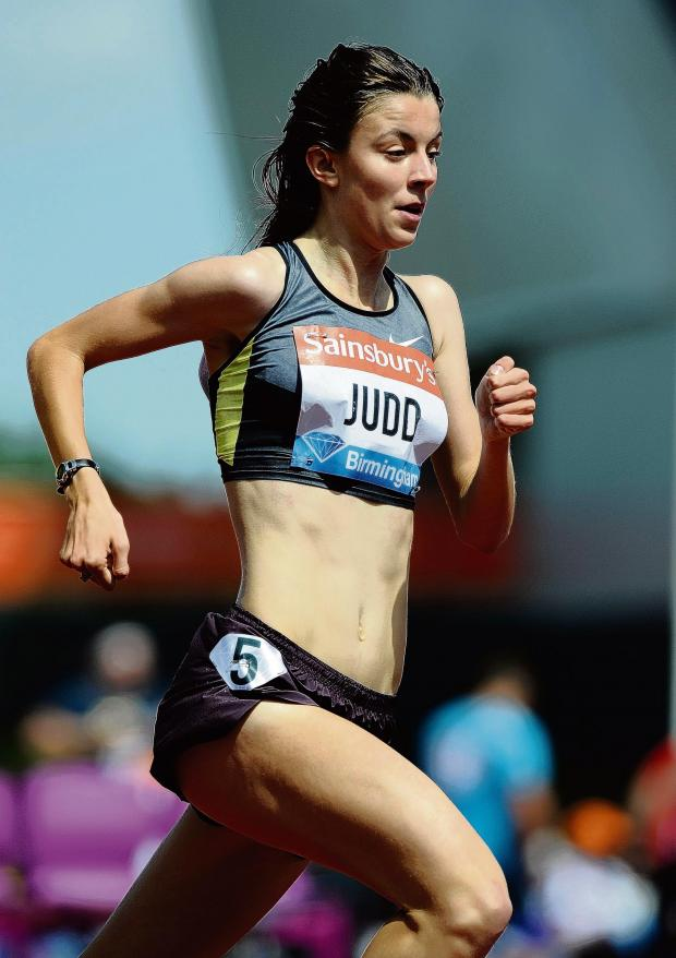 Echo: Mixing it with the best - Jessica Judd races in Oslo tonight