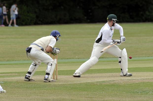 Old Southendian & Southchurch skipper Aaron Lucas in action last season