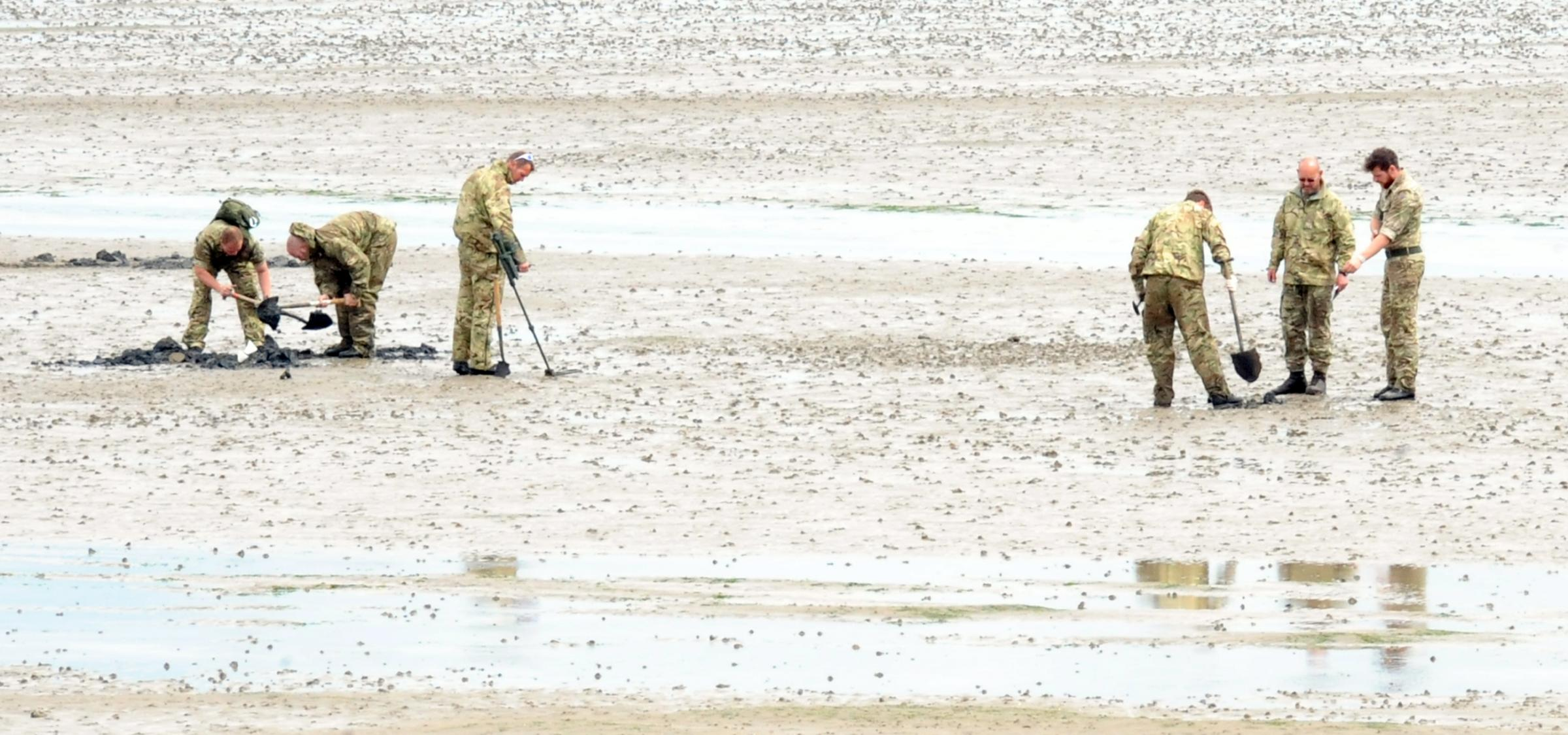 East Beach closed AGAIN after more ordnance found