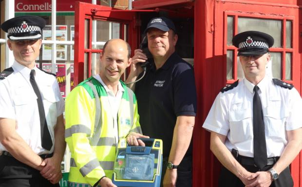 Pastors one step closer to getting life saving equipment for Billericay High Street