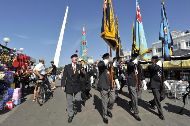 popular - the Southend Armed Forces Day always draws big crowds