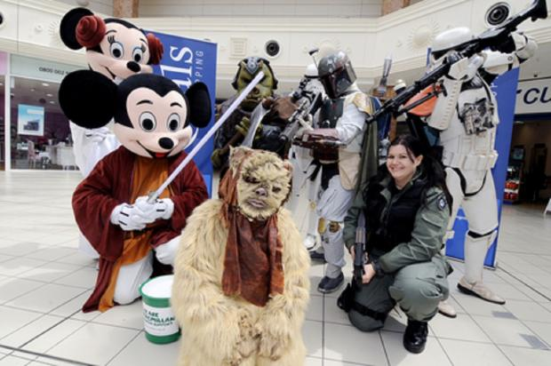 Jedi bikers raise money for Macmillan charity