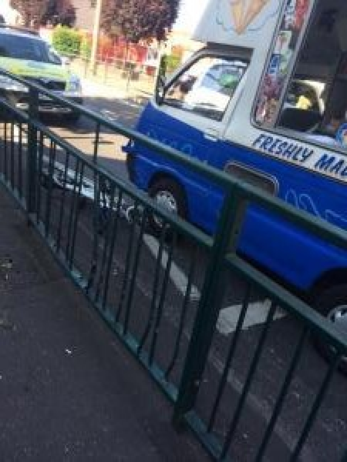 Teenage boy taken to hospital after being hit by ice cream van