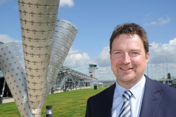 Southend Airport managing director Roger Clements