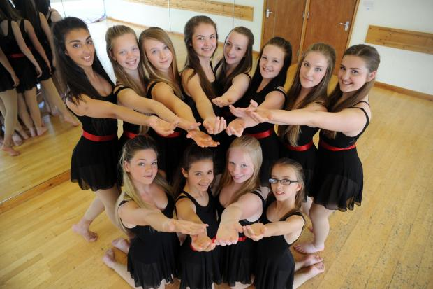 So talented – the academy dance troupe