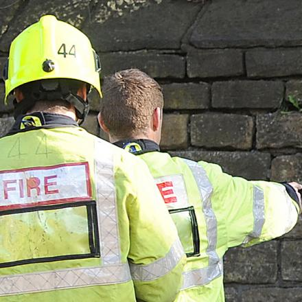 Scout hut fire under investigation