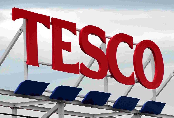 Bungled raid at Tesco store
