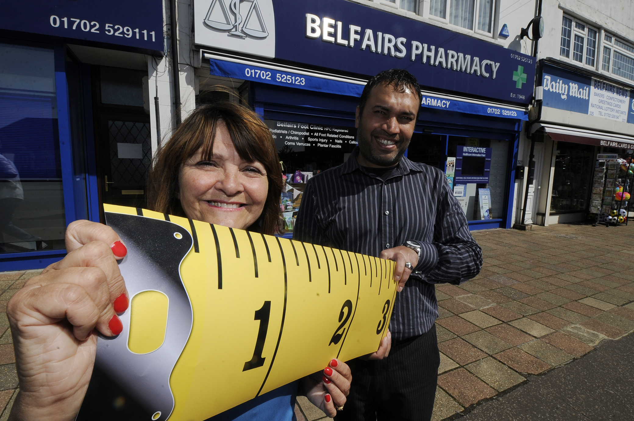 Pop in – Laura Tolley and Fizz Haji of Belfairs Pharmacy