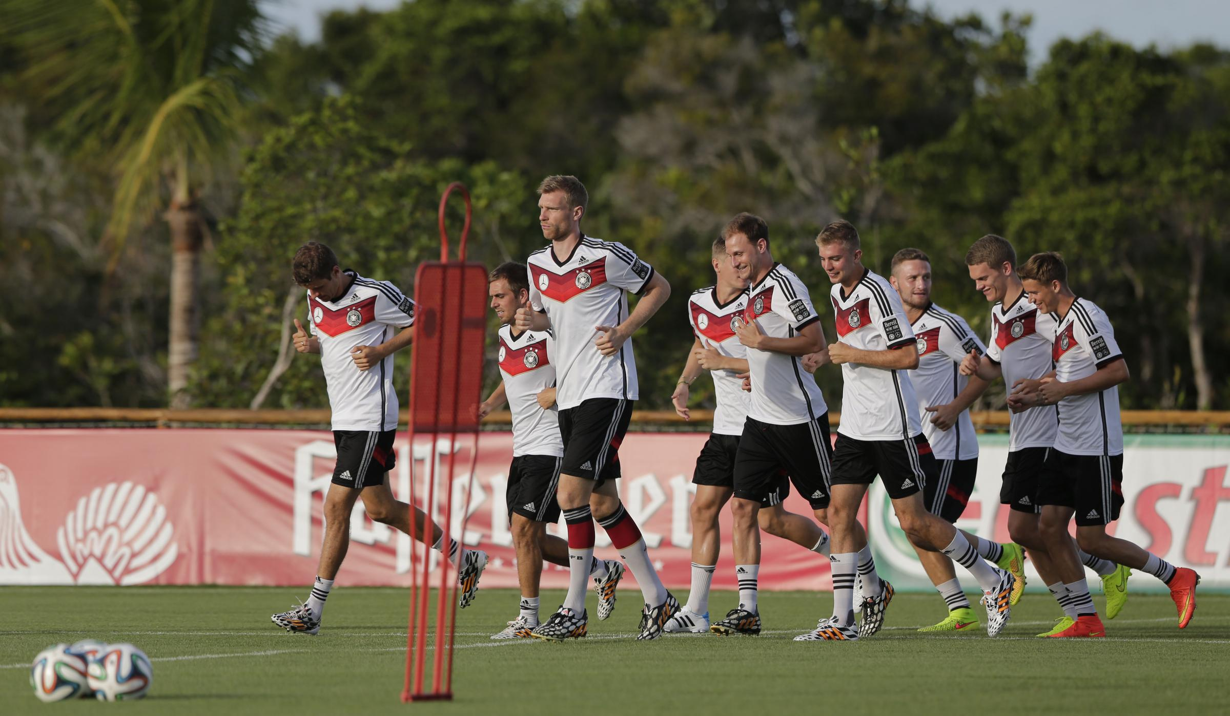 Imperious form – the Germans impressed in their win over Portugal