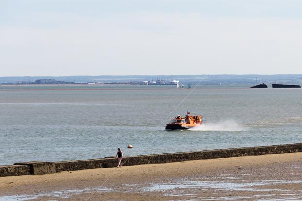 Two children rescued by RNLI