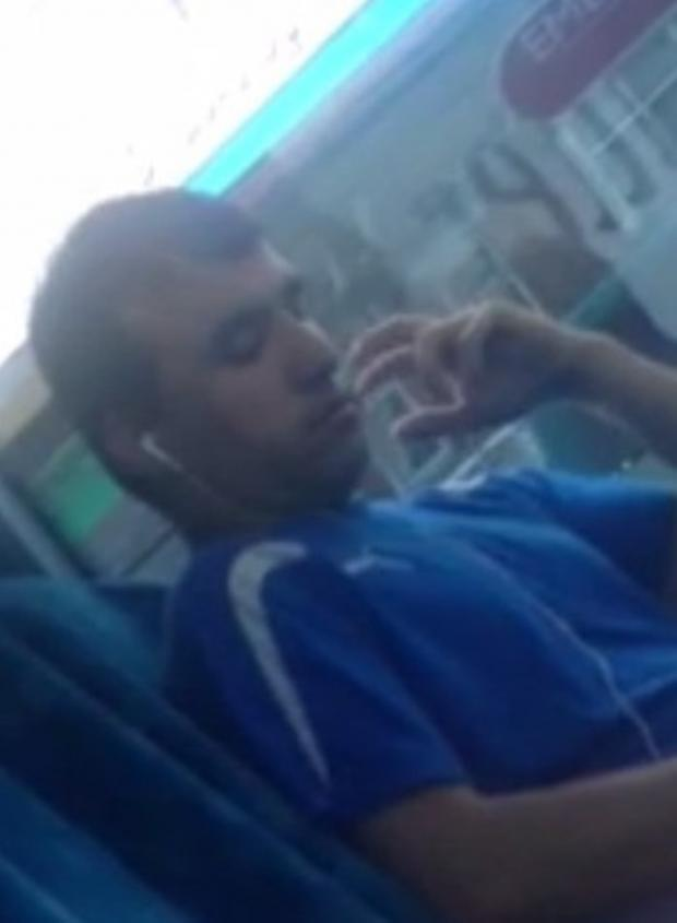 Echo: Woman 'distressed' by this man on bus
