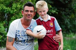 Hotshot youngster follows dad and ex-Hammer Steve Jones in signing for West Ham United