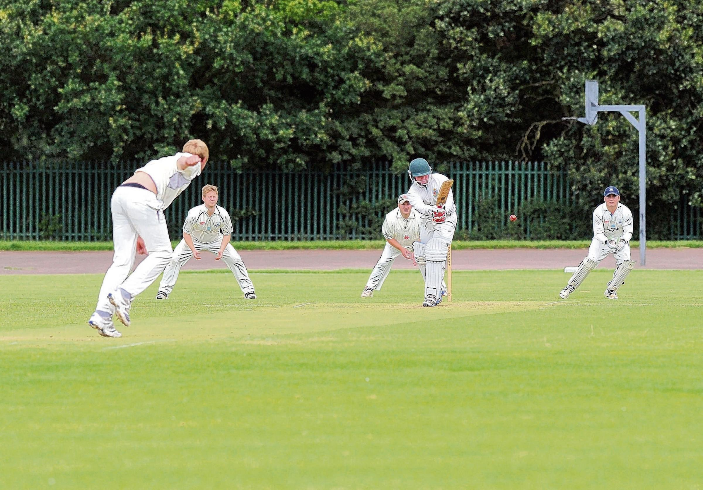 James Wilkins at the crease for Benfleet last year