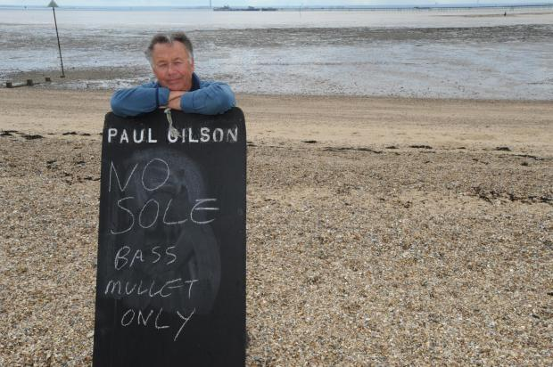 Echo: Paul Gilson, co-chairman of Leigh and Southend Fishermen's Association